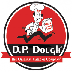 D.P. Dough The Original Calzone Company  Logo